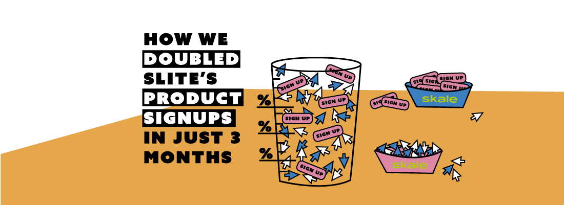 How we doubled Slite's product signups in just 3 months