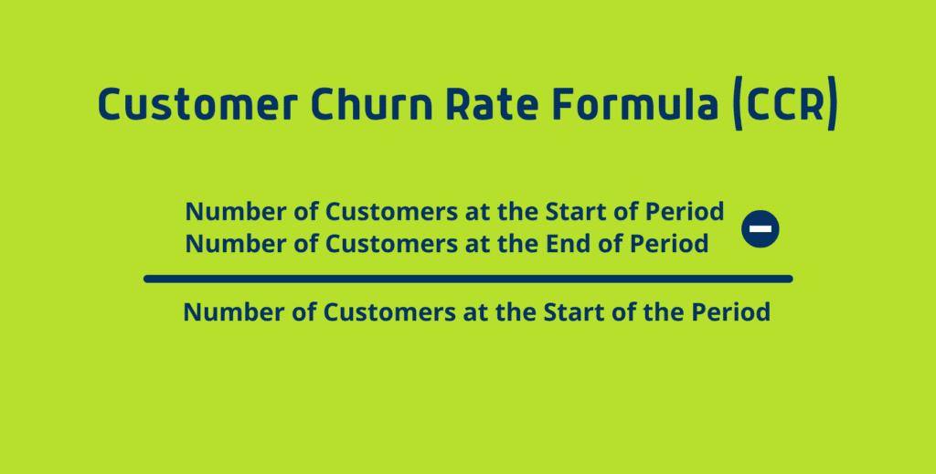Customer Churn Formula