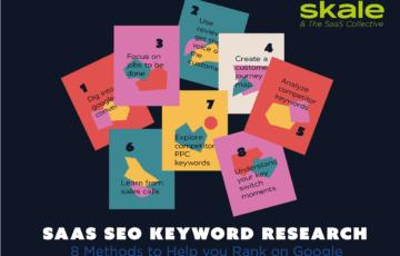 SaaS SEO Keyword Research: 8 Methods to Help You Rank on Google