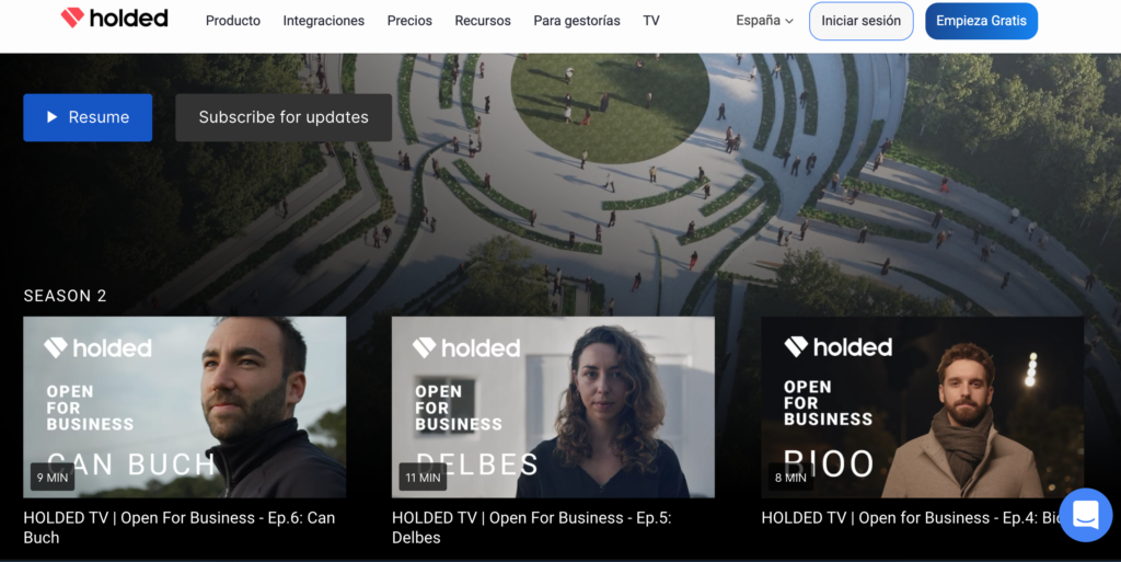 Holded TV