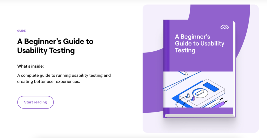 Beginner's guide to Usability Testing