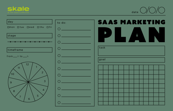 How to Create a Scalable SaaS Marketing Plan: A Complete Guide